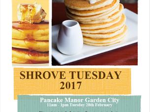SHROVE TUESDAY CHARITY FUN DAY 2017  GARDEN CITY