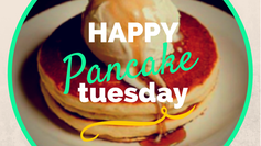 HAPPY Flippin' Pancake Tuesday