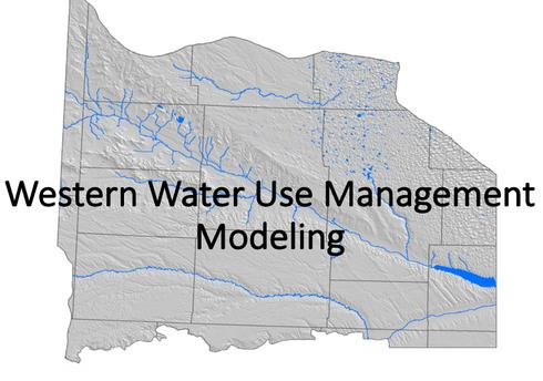 Western Water Use Modeling