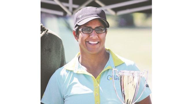 Fareen Samji 2016 Long Drive Champion
