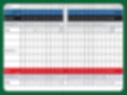 Hamilton Public Golf Scorecard