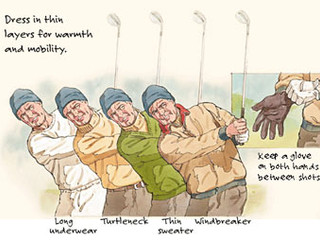 Is your golf attire ready for fall? Here are 8 tips to prepare for the fall golf season