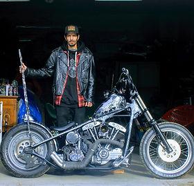 Mikael Roy Harley-Davidson PanShovel 195
