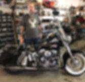 Claude Roberge Harley-Davidson Panhead 1