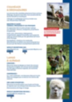 plaquette salon dromadaires chameaux paris janvry federation francaise des chameaux ICO ET ICRS