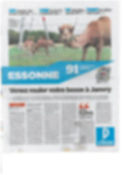 ARTICLE DU PARISIEN SALON DES CAMELIDES