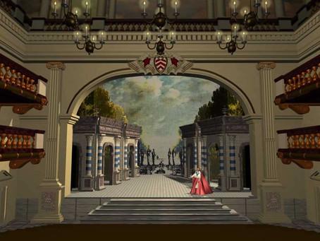 Открытие театра Пале-Кардиналь