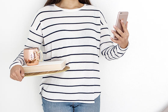 woman_black-white-stripe-phone-book-mug-
