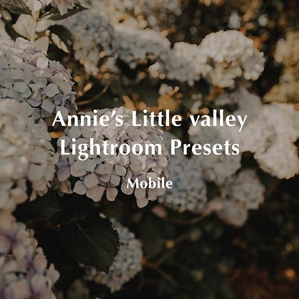 Annie's Little Valley Lightroom Presets Mobile