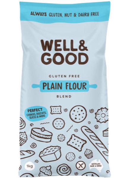 Well & Good Gluten Free Plain Flour