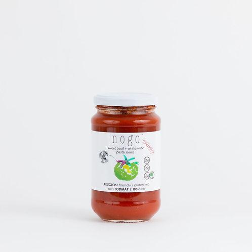 Sweet Basil and White Wine Pasta Sauce 375ml - GF, DF, VG