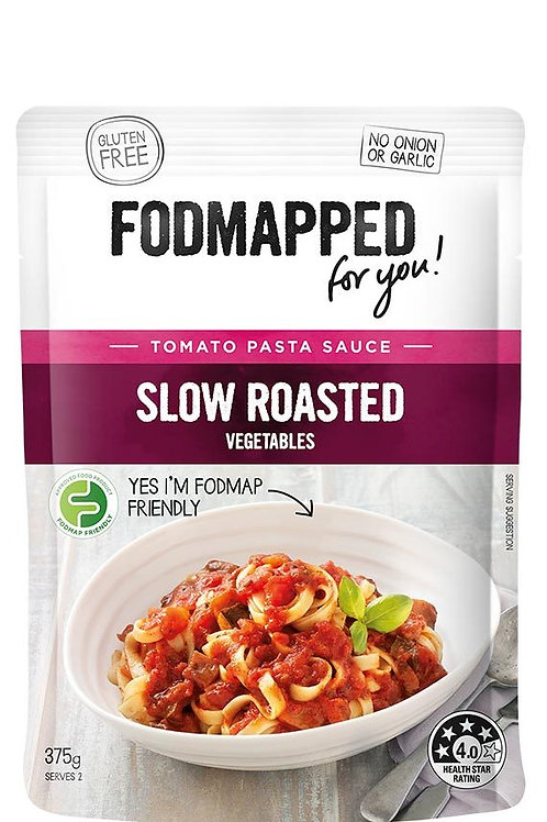 Fodmapped Slow Roasted Vegetables Tomato Pasta Sauce