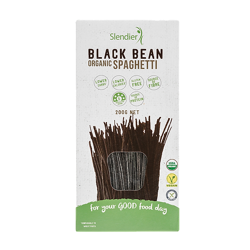 Slendier - Black  Bean Organic Spaghetti