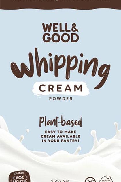 Well & Good Whipping Cream Powder