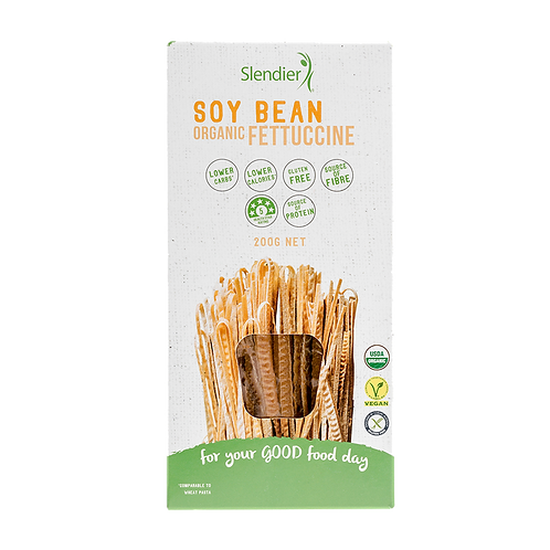 Slendier - Soy Bean Organic Fettuccine
