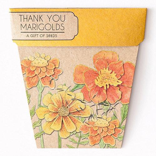 Marigolds Gift of Seeds