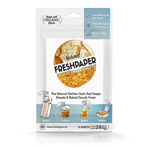 Freshpaper Food Saver Sheets  4 Pack - Bread & Baked Goods