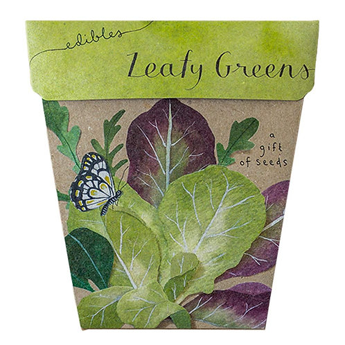 Leafy Greens Gift of Seeds