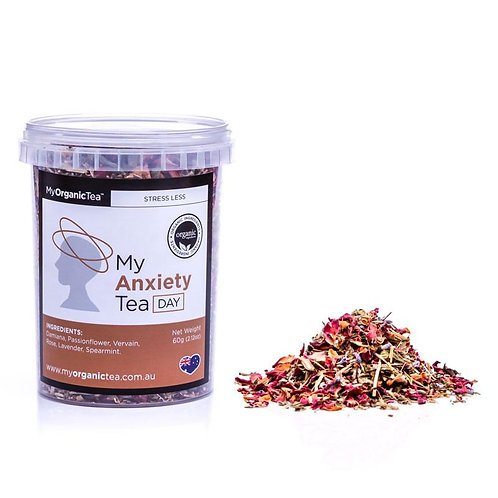 My Organic Tea - My Anxiety Tea Day (30 Serves)