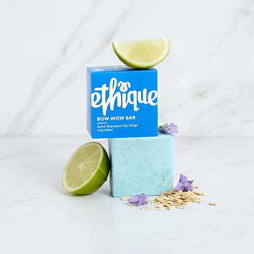 Ethique Bow Wow Bar Solid shampoo for dogs