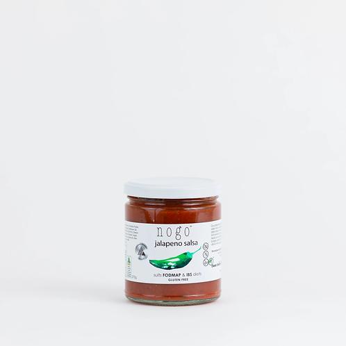 Nogo Sauces Jalapeno Salsa 275g - GF, DF, VG