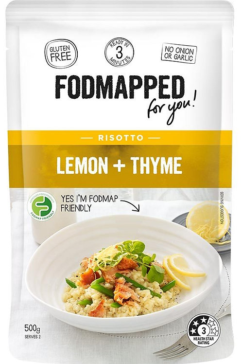 Fodmapped Lemon & Thyme Risotto