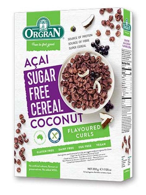 Orgran Sugar Free Acai & Coconut Cereal