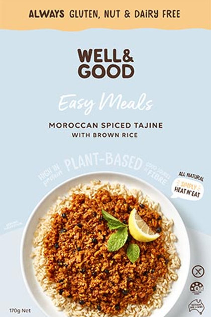 Well & Good Easy Meal - Moroccan Spiced Tajine