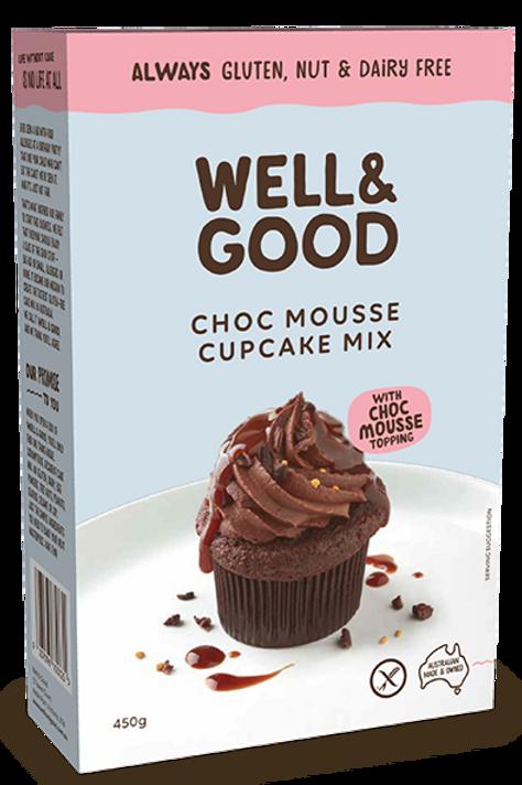 Well & Good Choc Mousse Cupcake Mix