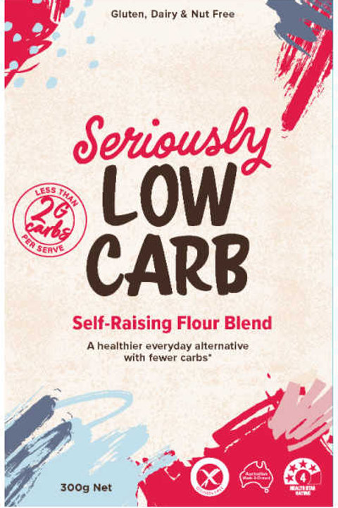 Well & Good Seriously Low Carb Self Raising Flour 300g