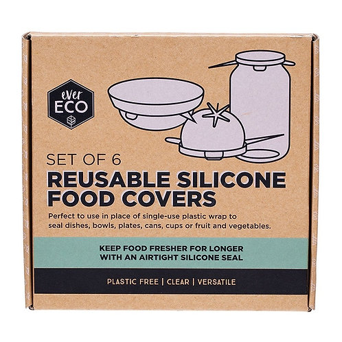 Ever Eco Silicone Food Covers - SET OF 6