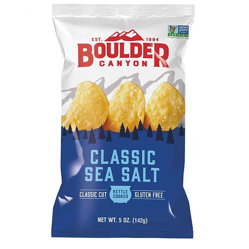 Boulder Canyon Chips - Classic Sea Salt