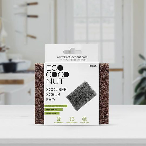 EcoCoconut Scrub Pads (2 Pack)