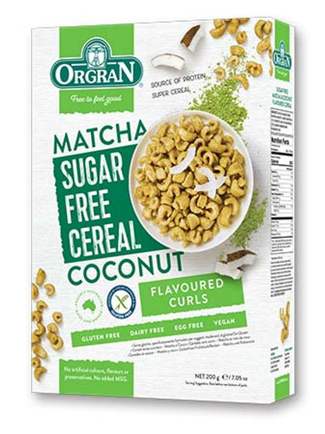 Sugar Free Matcha & Coconut Cereal