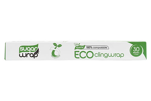 Sugar Wrap Eco Compostable Cling Wrap