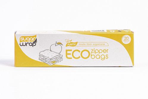 Sugar Wrap Eco Zip Lock Large Bags