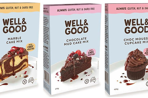 Well & Good Chocolate Lovers Cake Pack