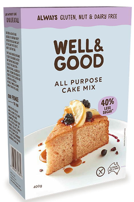 Well & Good All Purpose Cake Mix