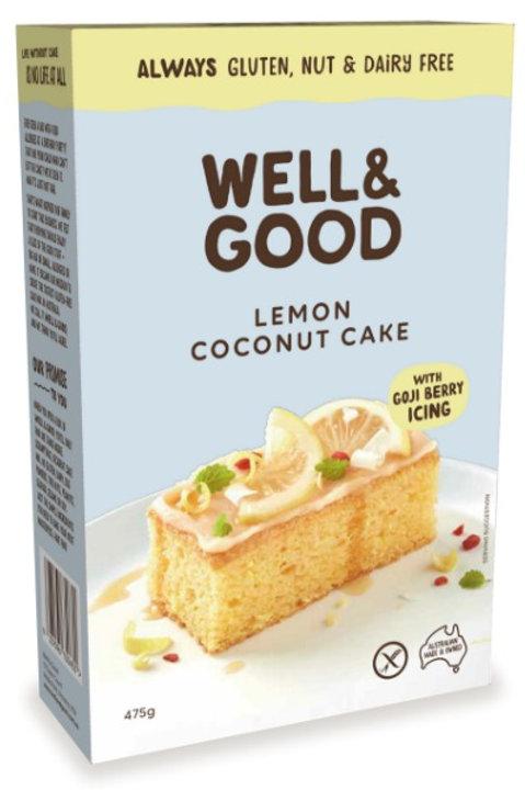 Well & Good Lemon Coconut Cake