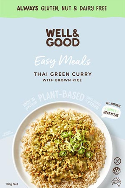 Well & Good Easy Meal - Thai Green Curry
