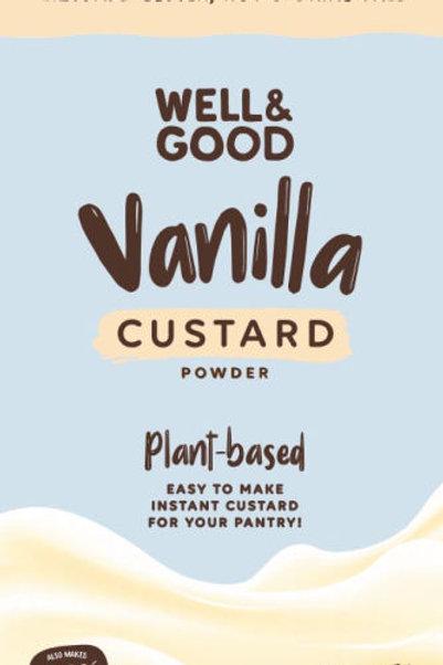 Well & Good Plant Based Vanilla Custard Powder