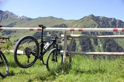 Fahrrad am Ständer