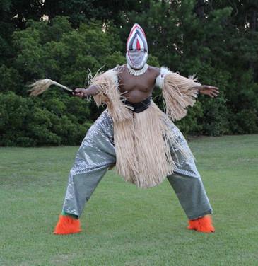 Gullah Ceremonial Dancer