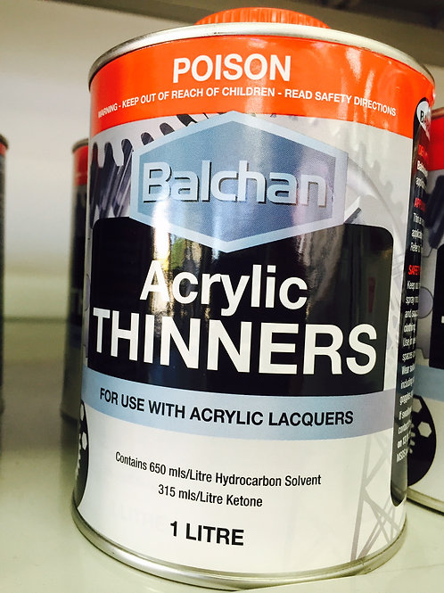Balchan Acrylic Lacquer Thinner 1 Litre