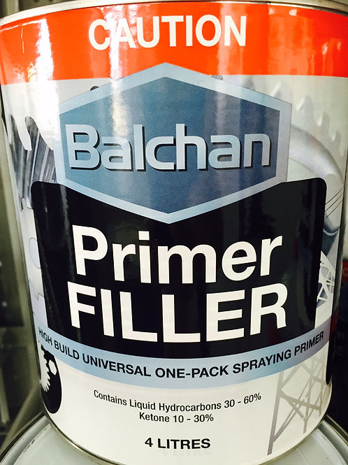 Balchan Acrylic Primer Filler 4 Litre