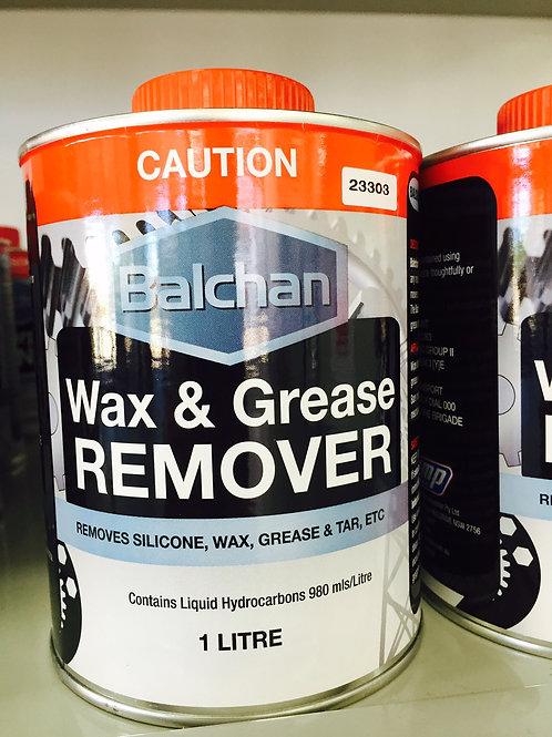 Balchan Wax & Grease Remover 1 Litre