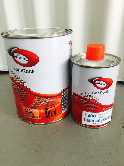 2K High Build Primer paint and hardener kit 1.25L