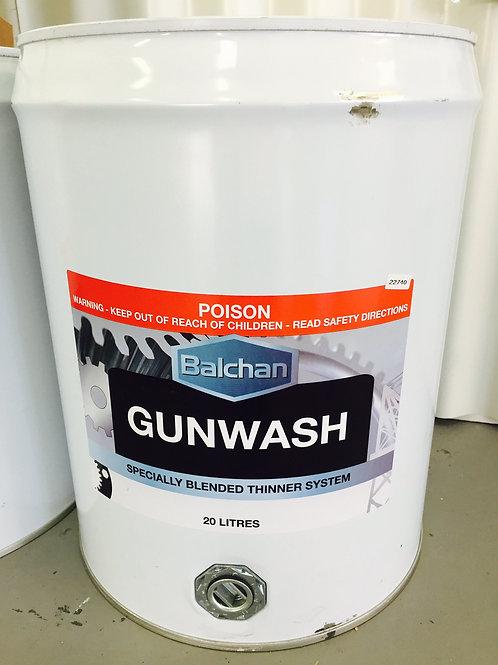Gunwash Thinners 20 Litres