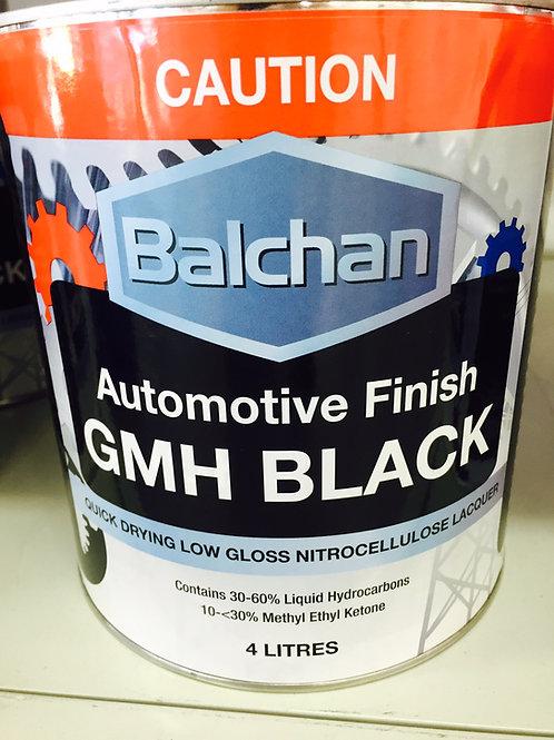 Balchan GMH Black Paint 4 Litre