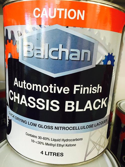 Balchan Chassis Black 4 Litre
